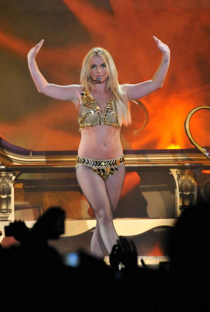 Britney spears bikini in concert power girl