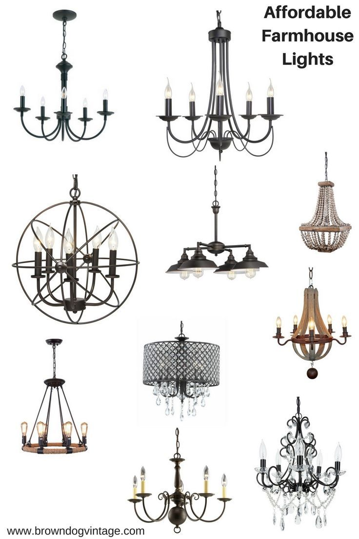 3721 best hanging lights chandeliers light sconces marquee signs 10 affordable farmhouse style lights arubaitofo Images