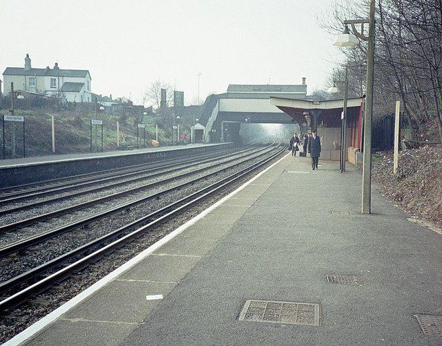 Honor Oak Park Railway Station (HPA) in Honor Oak Park, Greater London