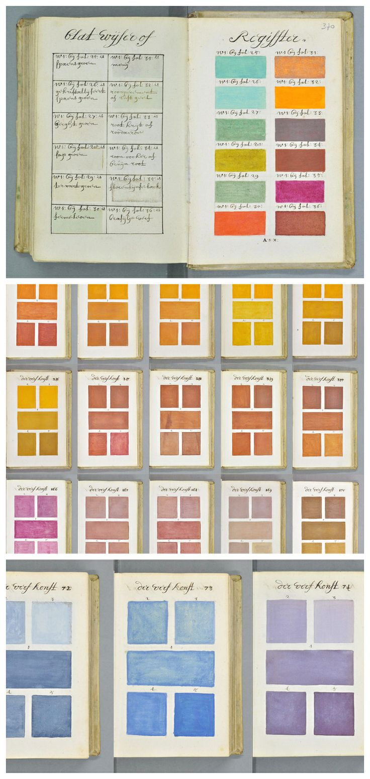271 Years Before Pantone, an Artist Mixed and Described Every Color Imaginable in an 800-Page Book » Amazing! #theartisanlife