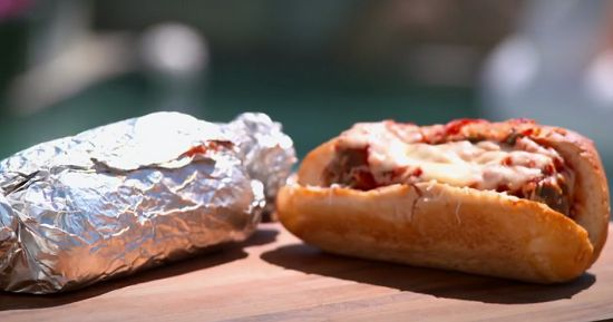 Tilly's slam dunk meatball subs on Matilda and the Ramsay Bunch