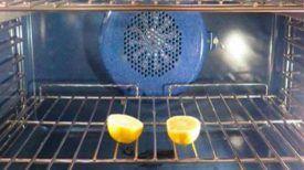 Mettez 2 citrons dans le four pendant une nuit entière et laissez la porte ouverte…Vous n'y auriez jamais pensé avant !