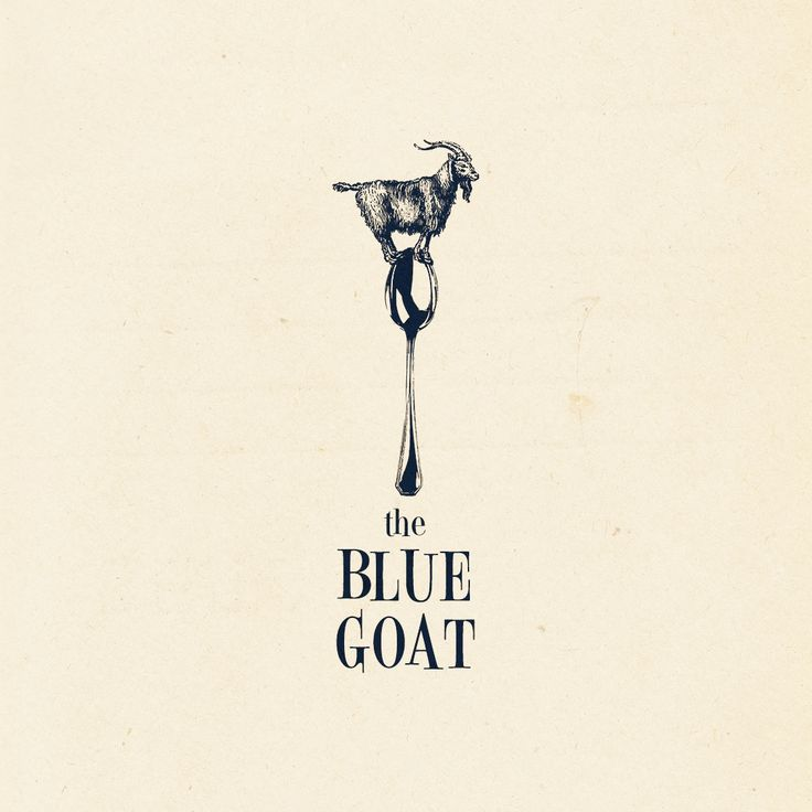 Design #1 by Vervor | Restaurant Logo The Blue Goat