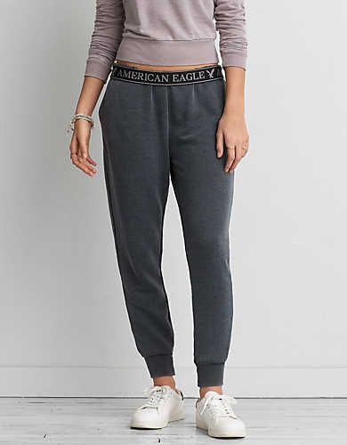 AEO Skinny Jogger, Grey | American Eagle Outfitters