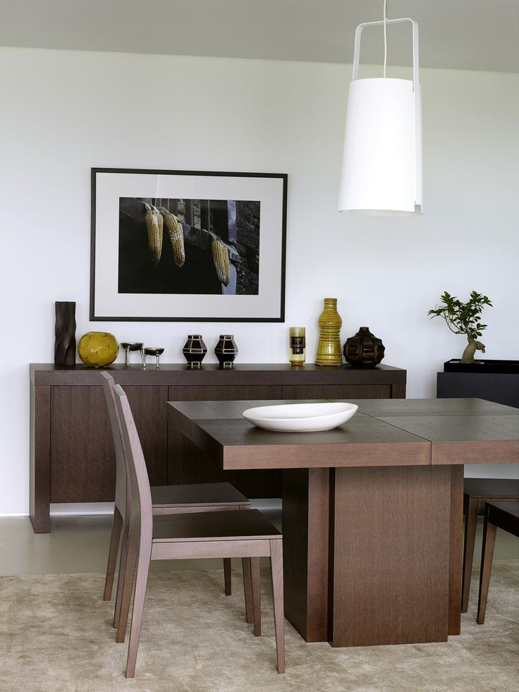 TemaHome Modern And Sustainable Dining Furniture. Featuring: Dusk Dining  Table And Kobe Sideboard.