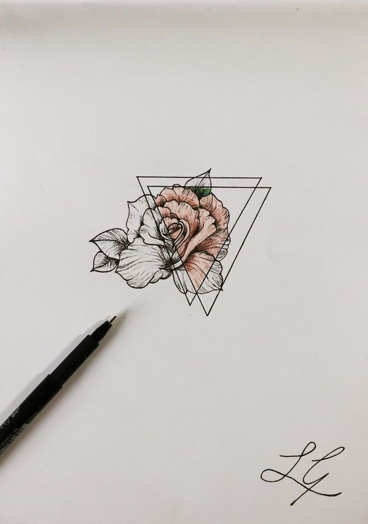 so i decided on my tattoo - i turned 18 last week and i want to get one. i've decided on this but the pink it going to be my birthstone colour of aquarius, which is a pale blue #TattooIdeasFlower #flowertattoos