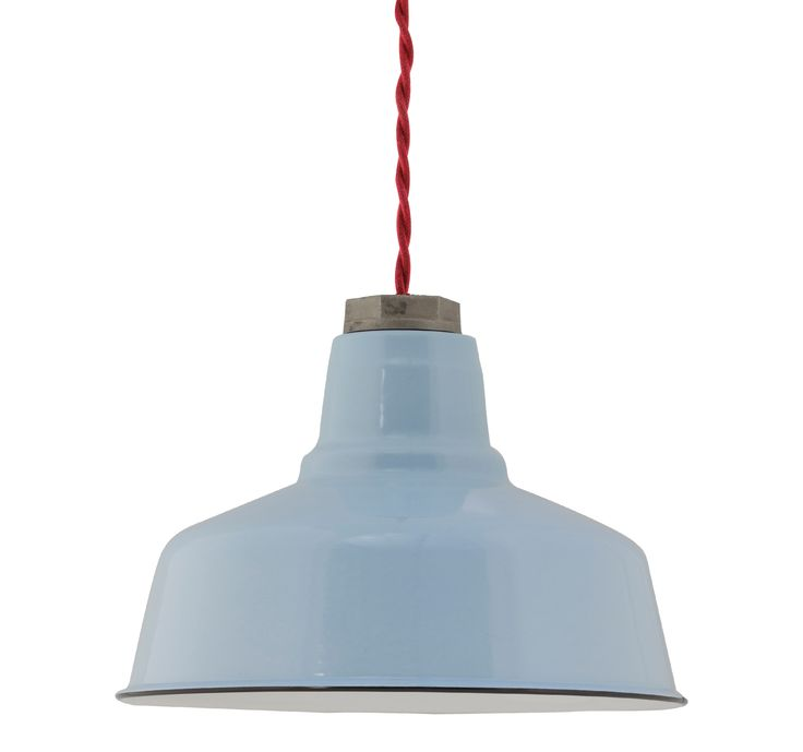 Ivanhoe Esso Warehouse Porcelain Pendant Barn Light