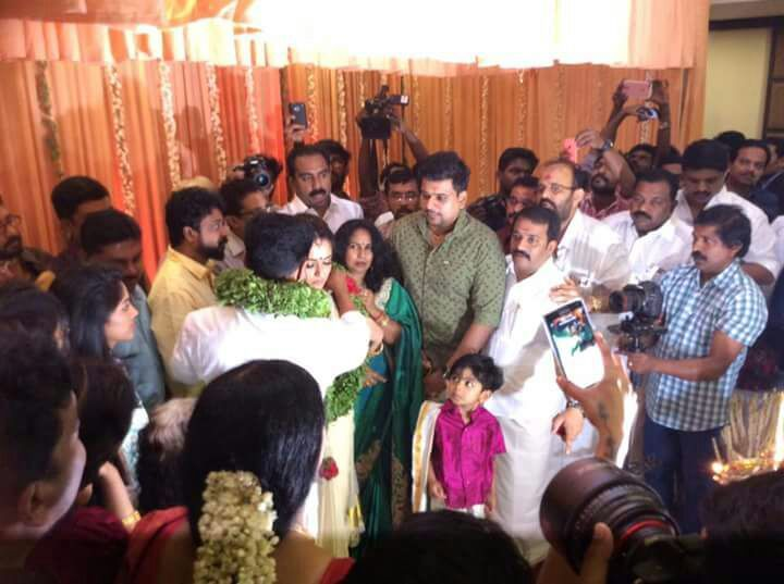 Malayalam actor Dileep and actress Kavya Madhavan are entering the wedlock at a private marriage ceremony in Kochi on Friday, November 25. A lot