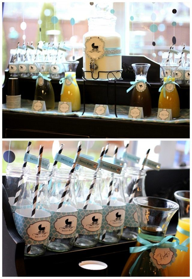 Breakfast With Tiffany Diaper Shower - Anders Ruff Custom Designs