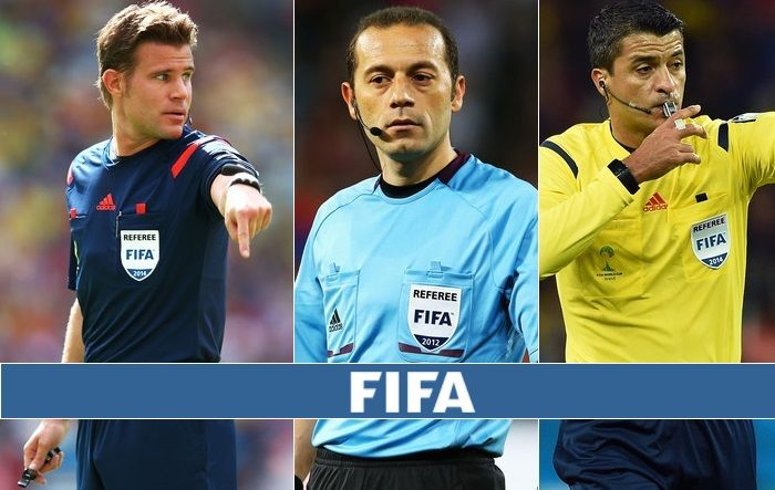 Fifa World Cup 2018 Referees Assistants Fifa Fifa World Cup World Cup
