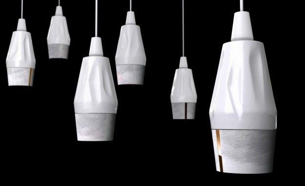 Lampadine a led - Le lampadine a led della lampada Onyx di Peugeot Design Lab
