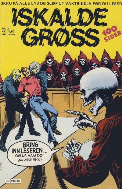 Cover for Iskalde Grøss (Semic, 1982 series) #3/1984