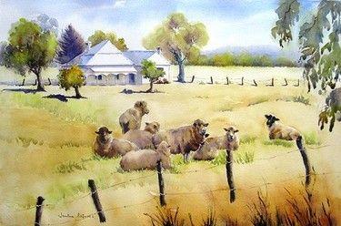 Janine CAIRNES - Watercolour Society of WA Inc