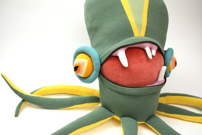 Monster tentacle plush