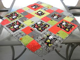 Taggie Baby Quilt