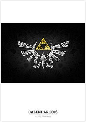 Zelda Calendar
