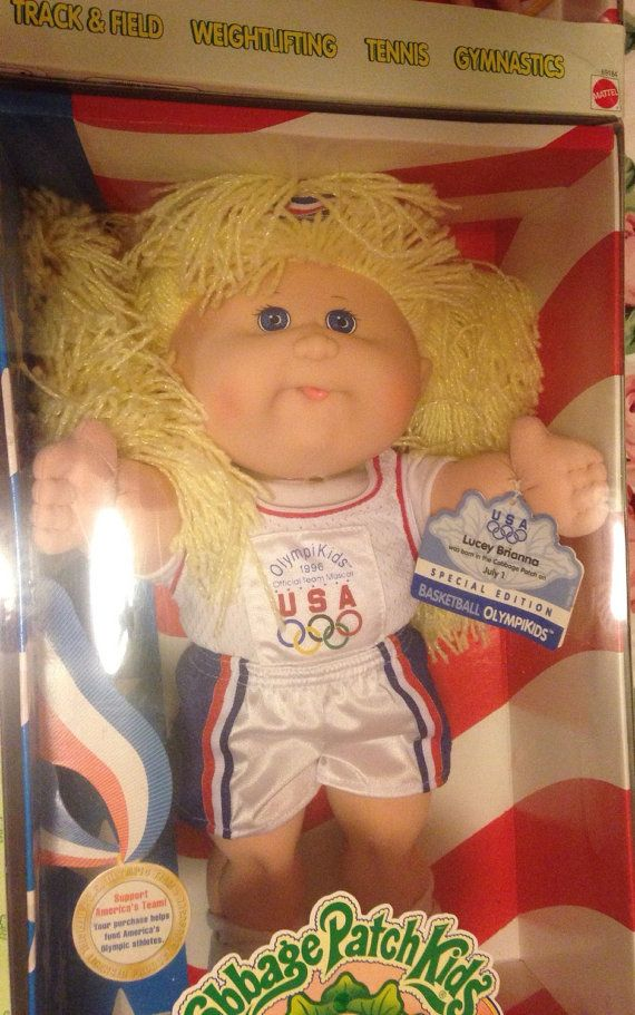 Collectible Cabbage Patch Olympic Mascot Doll by ArtHappy on Etsy
