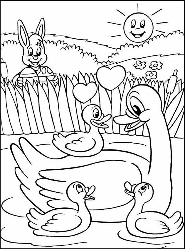 14 best Easter Colouring Competition images on Pinterest | Easter ...