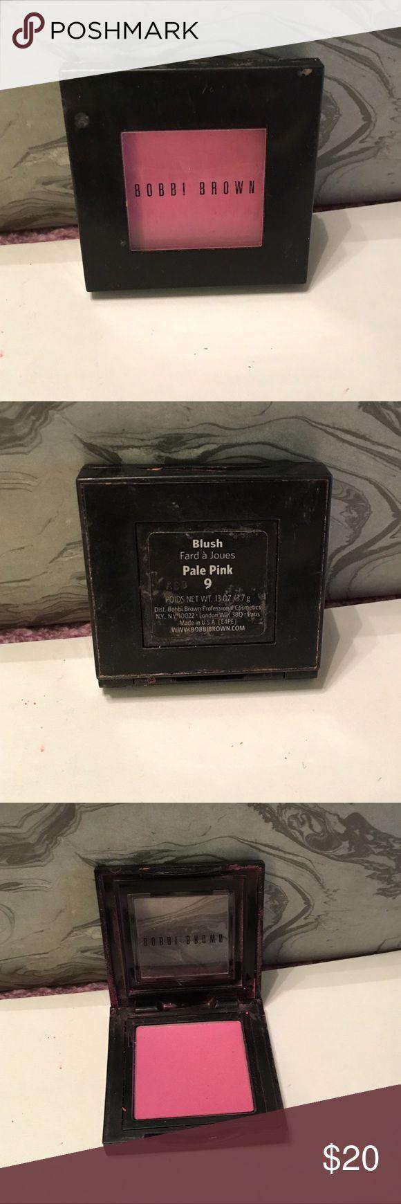 "Bobbi Brown ""Pale Pink"" Blush - used once Bobbi Brown ""Pale Pink"" Blush - used once • beautiful saturated color • cleaned and ready to ship • Bobbi Brown Makeup Blush"