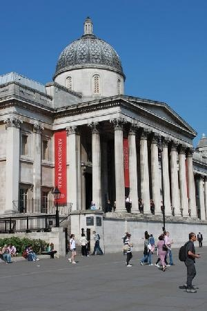 National Gallery Art Museum  London - been there once, but am dying to go back someday!