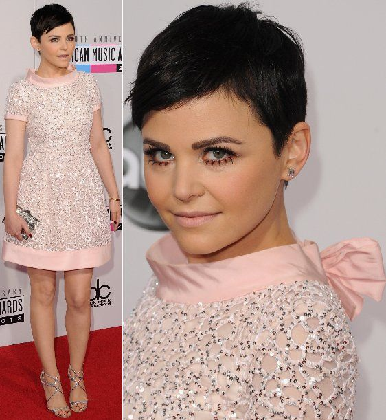 Ginnifer Goodwin hair. Love it. She is so fierce!