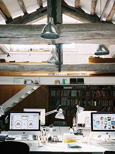 #veronikamaine #office #inspiration #summer13 #workplace #desktop