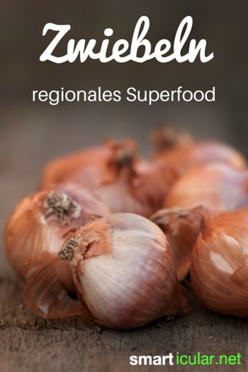 Die Zwiebel - ein Multitalent für Gesundheit und Wohlbefinden - wahrlich ein Superfood, jedoch regional und sehr preiswert zu haben.