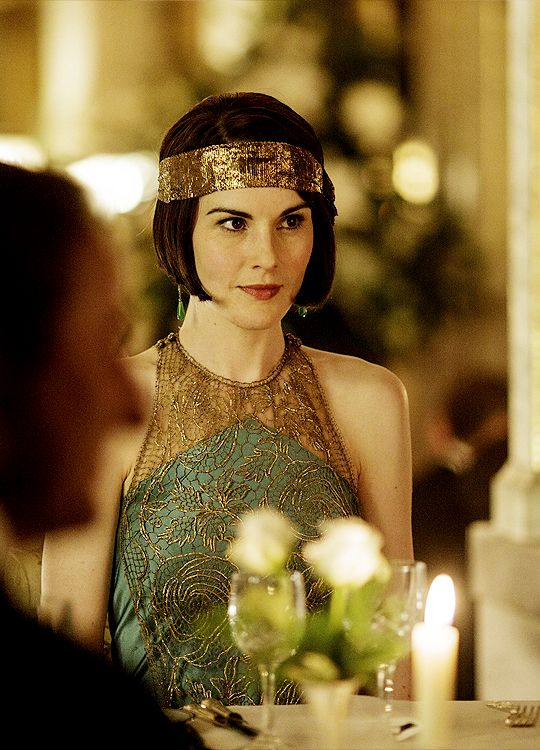 Lady Mary Crawley, Downton Abbey Season 6 [1925] costume designer Anna Mary Scott Robbins.