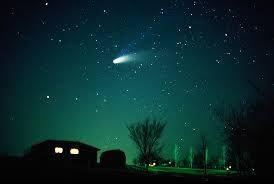 El cometa Haley pasa cada 70 años, espero seguir viva para poder verlo...