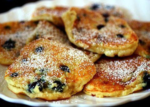 Pancake al mirtillo