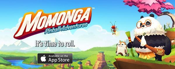 Momonga Pinball Adventures banner, lets roll! #momonga #MomongaPinballAdventures #Paladinstudios
