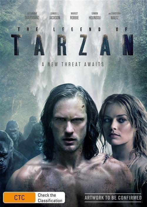The Legend of Tarzan DVD 2016 Region 4 Aussie Release 9398700039255 | eBay