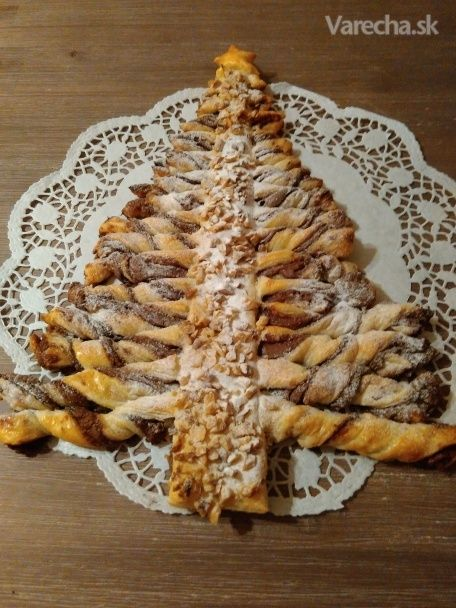 Kerstboom - Vianočný stromček z lístkového cesta