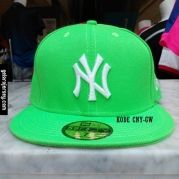 New Era Cap – NY New York Yankees – Green White Visit our webstore to grab it!!  #newera #topi #caps #hats #baseball #mlb #skateboard #hiphop #bboy #dance #59fifty #fitted #snapback #losangeles #la #dodgers #gelorajersey #grren