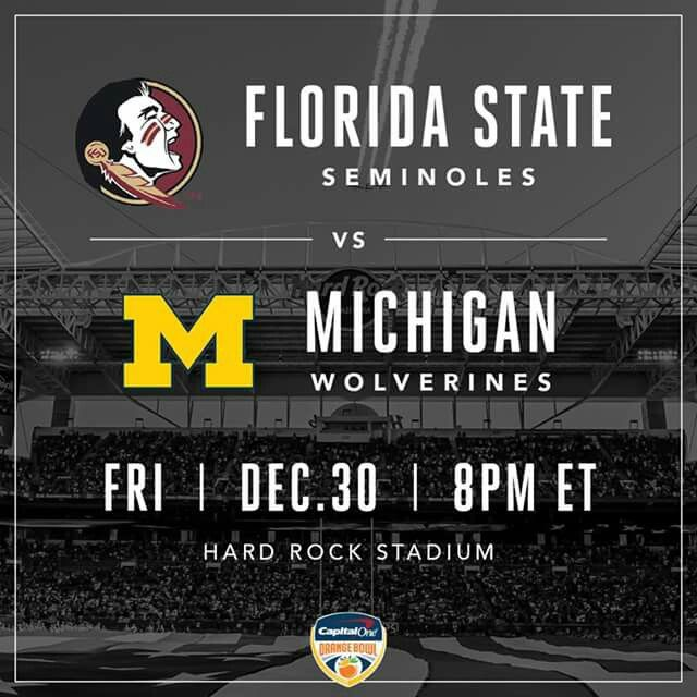 Will be a good game in Miami however I'll have to enjoy it in the Midwest getting ready for New Years Eve