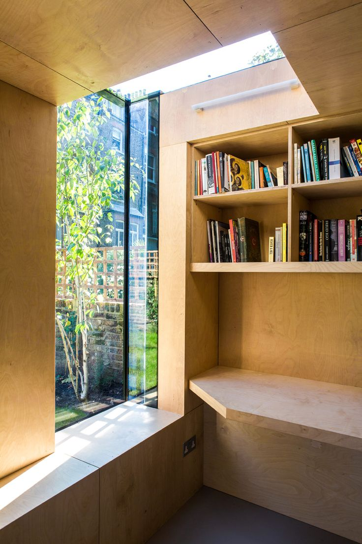 Shadow shed garden room by neil dusheiko architects two for Garden shed 2 rooms
