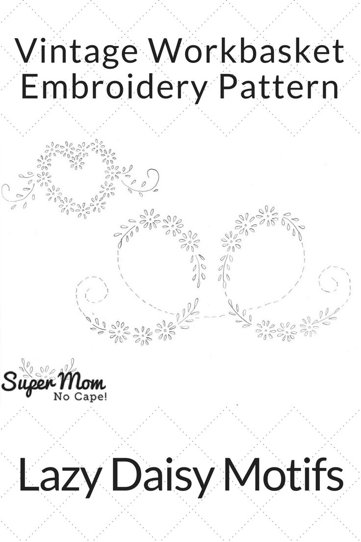 623 best vintage embroidery patterns images on pinterest stitched individually or in combination these simple daisy motifs will bring a smile while stitching and for years to come bankloansurffo Choice Image