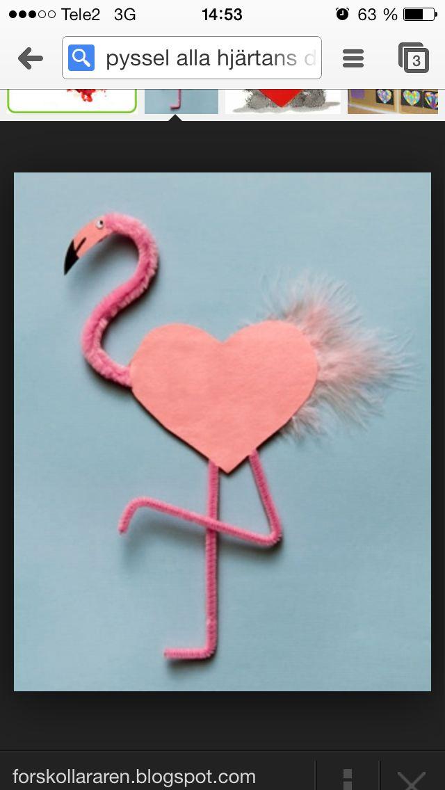 Loving flamingos