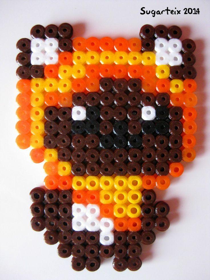 Imán de Ewok en hama midi. Si te gusta puedes adquirirlo en nuestra tienda on-line: http://www.mistertrufa.net/sugarshop/ Ver más en: http://mistertrufa.net/librecreacion/groups/hama-beads/