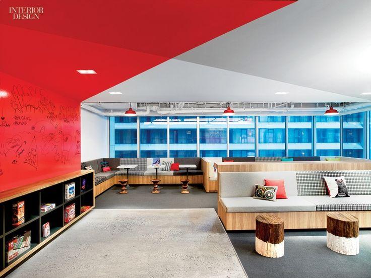 5 firms design viacom 39 s midtown nyc headquarters for Corporate interior design firms