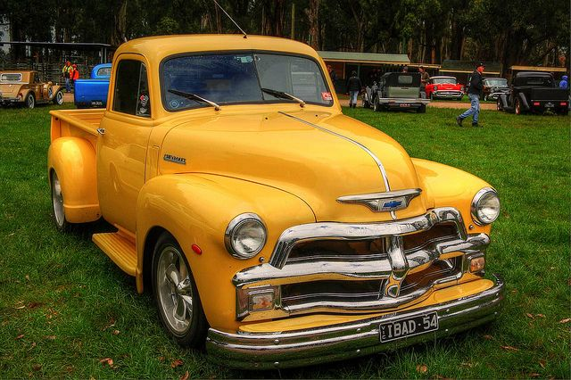 1954 Chevy Pickup Truck. Only i want it in pink :-)