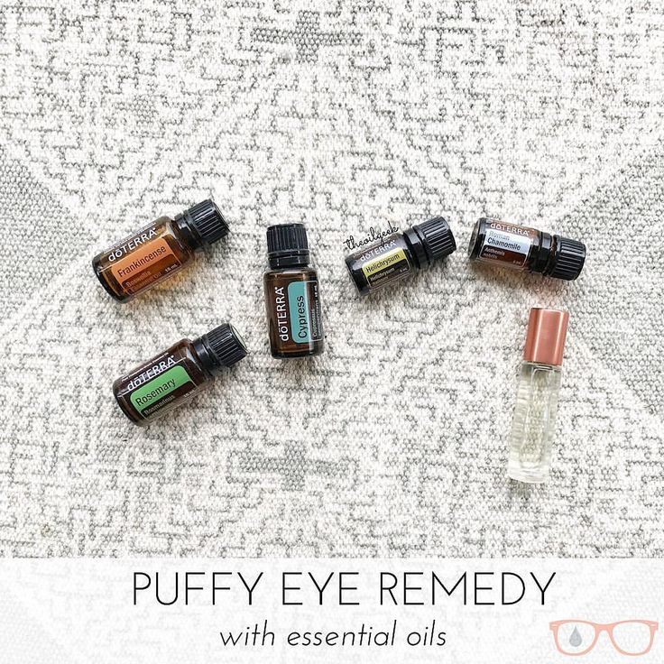 Essential Oils - dōTERRA for puffy eyes. Essential oil remedy for swollen eyes, anti aging and better skin from The Oil Geek