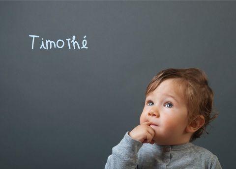 """En grec signifie """"respect de Dieu"""", fête le 26 janvier, les TIMOTHE sont fidèles, réfléchis et sensibles"""