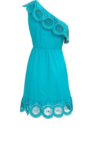one shouldered!: Fashion Burial, One Shoulder Dresses, Teal Dresses, Cute Dresses, Super Cute, Cowboys Boots, Aqua Colors, Cute Summer Dresses, Turquoise Dresses