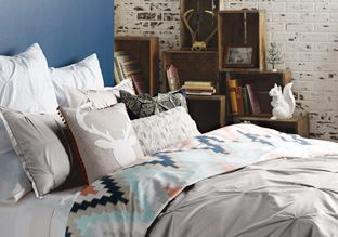 Blissliving Home -   Inspired by a passion for travel, contemporary art, fashion and design, Blissliving Home consistently showcases striking designs that somehow exude a restful vibe. Here, find everything from bedroom to bathroom essentials, all in an array of unique prints and textures.                          ...  #Bedding, #Blanket, #Curtain, #Duvet, #FauxFur, #Pillow, #Pillowcase, #Sapphire, #Shams, #Sheet, #Throw