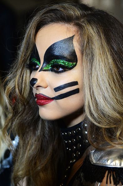 Jade Thirlwall as Peter Criss from Kiss when the girls ...