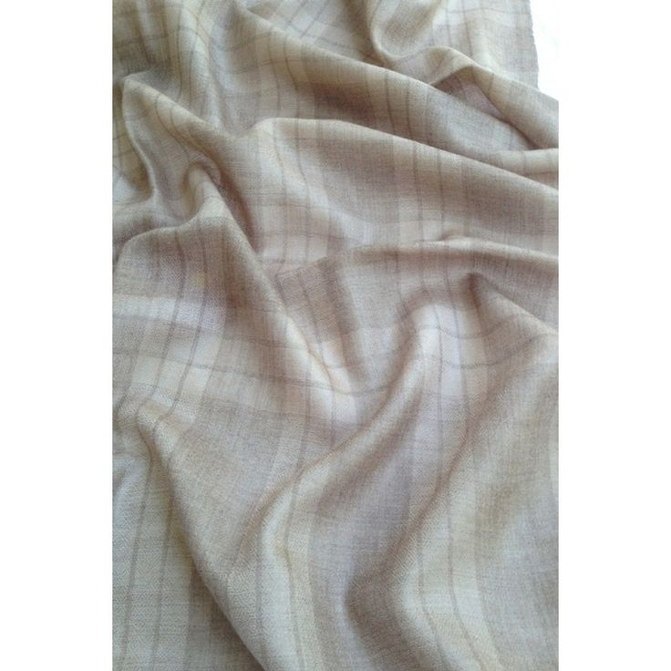 Light Grey Pashmina Scarf (J-124) | 100 % Cashmere Pashmina Silk Scarves. [A reputed name in Kashmiri Scarf]