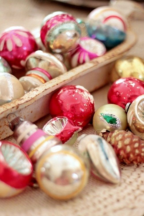 Cute article..I myself have some of the same ornaments, I cherish them.