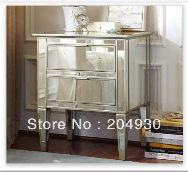 mirrored side tables mirrored furniture bedside tables end tables