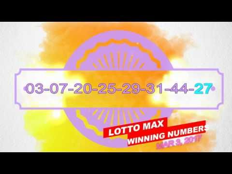 Past Winning Numbers Lotto MAX Mar-3-2017 - (More info on: https://1-W-W.COM/lottery/past-winning-numbers-lotto-max-mar-3-2017/)